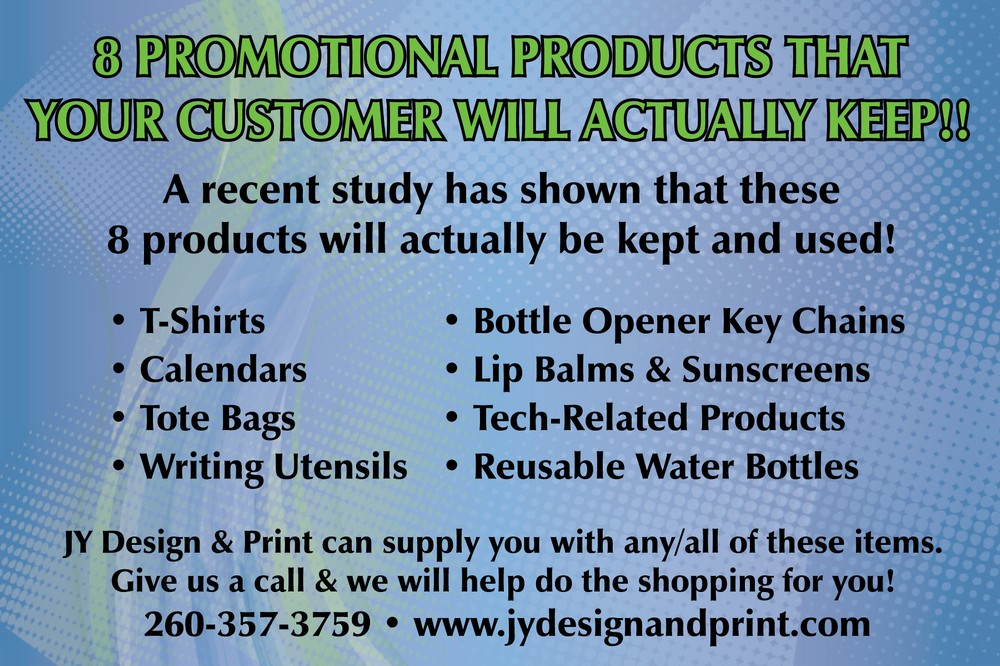 8 Promotional Products That Your Customers Will Actually Keep!